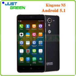 "5.0"" Kingzone N5 4G LTE 2G RAM 16G ROM Android 5.1 MT6735 mobile phone"