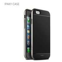 New iPaky Soft Plastic Hybrid Silicon Back Case For iPhone 6S