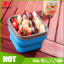 Silicone Airtight Disposable Takeaway Microwave Oven Safe Food Container