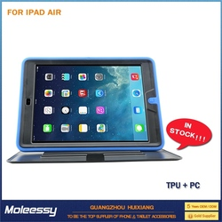 Particular pc silicone combo case for ipad air