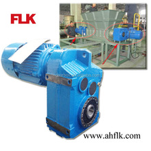 FA series Helical Parallel Hollow Shaft Gearbox for paper shredder