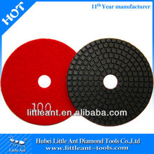 """4"""" 100 grit power tool of wet marble polishing pads by china manufacturer"""