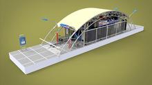Tunnel Car Wash, Car Wash Tunnel GT-R800, 12Brushes Fully-automatic Conveyor Tunnel Car Wash