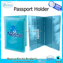 Promotional gifts fashion pu passport case