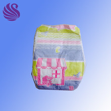 Economic PE Film Cute Baby Disposable Diapers Made in China