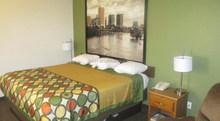 2015commercial furniture SUPER 8 hotel bedroom sets, villa/hotels selling furniture