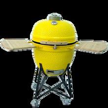 CE round royal food bbq fish smoker