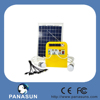 10W 20w 30w 12v solar indoor lighting system kit with LED bulb used for room