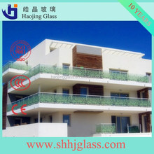 manufacturer supply high quality stained glass door/tempered glass price with CE certificate