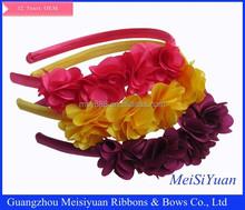2016 new girls flower headband/vintage flower headband for girls