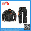 2015 fashion Brand products blue waterproof motorcycle rain suit