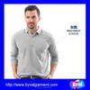 100% Cotton Men's Long Sleeve Polo Shirt Wholesale China
