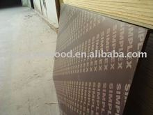 poplar film faced plywood for shuttering with logo