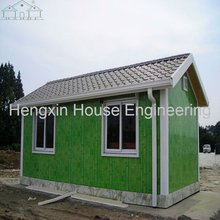 Mobile bamboo house