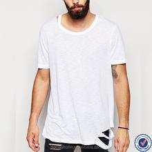 cheap wholesale longline tshirt plain oversized tshirt running men long tshirts