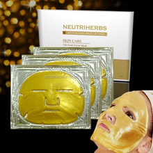 2015 cell renew beauty products 24K Nano gold facial collagen mask power for personal care