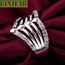 Silver rings 925 Sterling rings for women Fashion personality finger Silver Rings