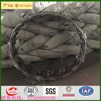 razor blade barbed wire toilet seat/low price concertina razor barbed wire/razor wire prison fence