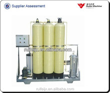 water treatment machine(sand filter carbon filter, softener), ro plant price