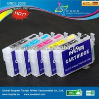refill ink cartridge for epson T1100 a3 printer with permanent chip