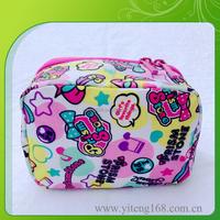 Stylish Design Waterproof Leather Beautiful Cosmetic Bag