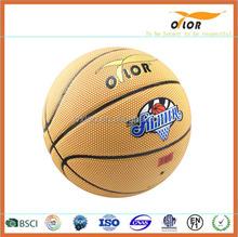 Customized laminated ball basketball