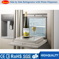 Side By Side double Door Fridge Freezer Stainless Steel Refrigerators