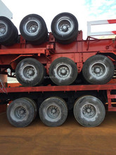 second hand trailers chasis in hot sale
