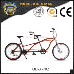 26 mountain bike tandem bike 7 speed MTB tandem bicycle new model