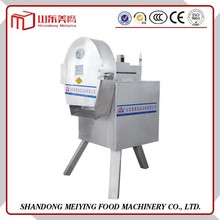 Stainless steel automatic beautiful small volume production of low energy consumption machine hat diamond slice vegetable proces