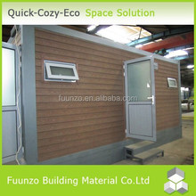 Good insulated Customized Prefabricated Ablution