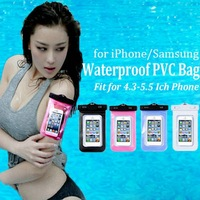 New brand PVC material waterproof case for samsung galaxy S4 Mini S4