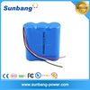 Certificated 18650 4400mah 12v li-ion battery pack for medical device
