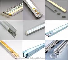 kitchen led aluminium profile/U channel aluminum/aluminun housing