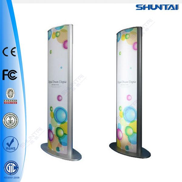 Ext rieur mur lumineux panneau publicitaire en plastique for Panneau exterieur publicitaire