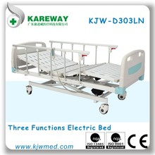 Dubai hospital furniture,medical care bed,electric folding patient bed for sales