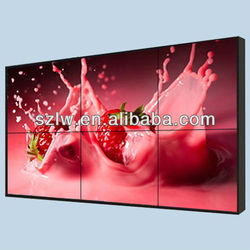 "46"" Samsung DID video walls,LCD video wall displays 4K display supported"