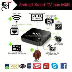 Quad Core MX3 MXIII Android Smart TV Box 2GB/8GB LOADED XBMC w/i8 WIFI Keyboard