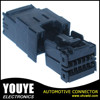 YY 7121-1.2-11 black PBT material 12 pin male auto wiring harness electronic connector
