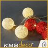 Best selling red led decoration string lights multicolor wholesale
