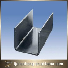 china supplier steel u channel,u channel steel sizes