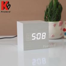 Daily use mini table clock novelty wholesale sublimation gift ideas