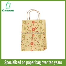 Designer hotsell recycled kraft paper bag purchase