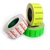 Pricing sticker paper roll for retail shopping with Custom printed roll price tag