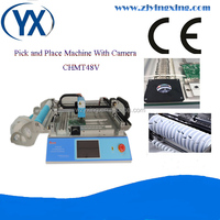 Hot SMT Machine SMD LED Mounting Machine Vision BGA Chip Repair Machine