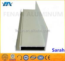 F aluminium profile extrusion factory supplier/custom aluminum f profile manufacturer/F shaped aluminium extrusion OEM