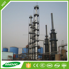 Good Performance Waste Plastic To Oil Refining Distillation Machine