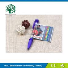 Plastic Ballpen, Fancy Style Banner Pen, Soft Pvc Magnet Pen