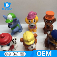 custom made action figure, wholesale plastic cartoon character toys for kids,paw patrol toys