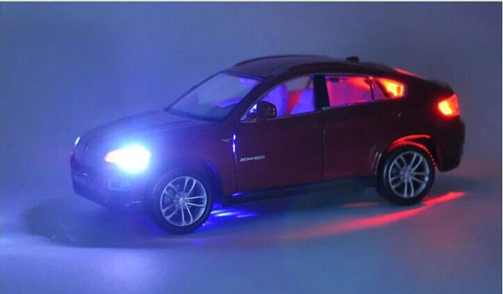 132 Alloy Car Model For BMW X6-25